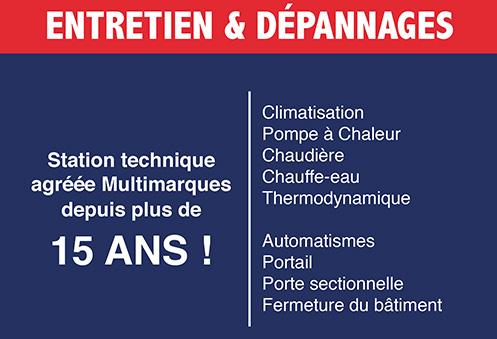 STME Station technique - Entretien depannage maintenance climatisation